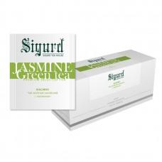 Чай зеленый в пакетиках для чашки Sigurd Jasmine Tea (Сигруд с жасмином), 30шт.*2г.